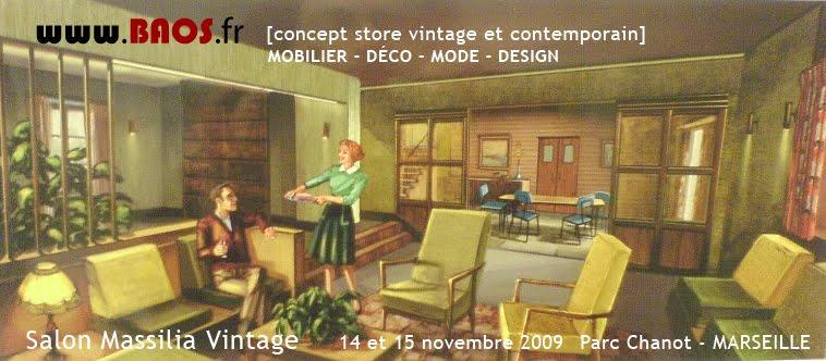 >Rdv sur la Salon Massilia Vintage les 14 et 15 novembre 2009