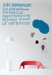 >R&E BOUROULLEC à la Cité Radieuse du Corbusier à Marseille