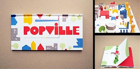 """>Popville, un petit bijou de pop-up sur l""""histoire de la construction d'une ville"""
