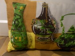 >Collection de coussins et poufs LaBerlue