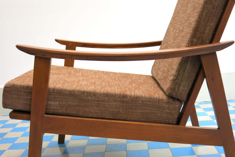img_8045 fauteuil scandinave vintage ref1623 - Fauteuil Scandinave Vintage