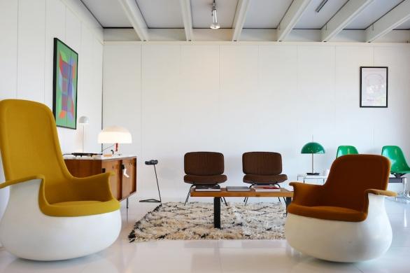 concept store vintage et contemporain. Black Bedroom Furniture Sets. Home Design Ideas